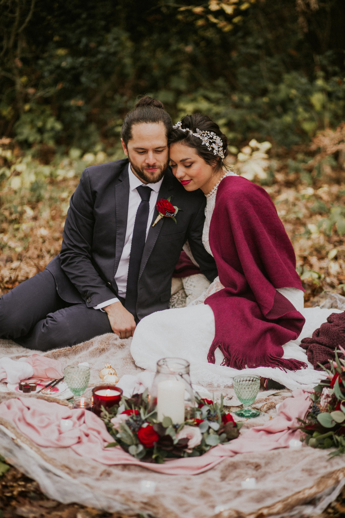 The Stars Inside - Forest Elopement - Nataly J Photography (20)