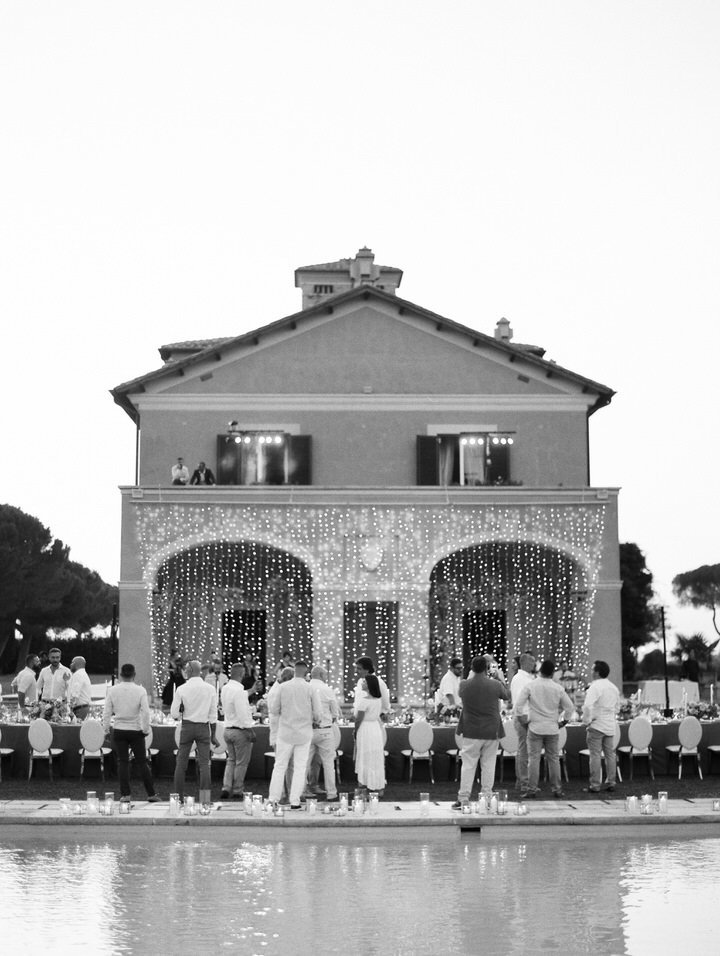 al fresco italy wedding
