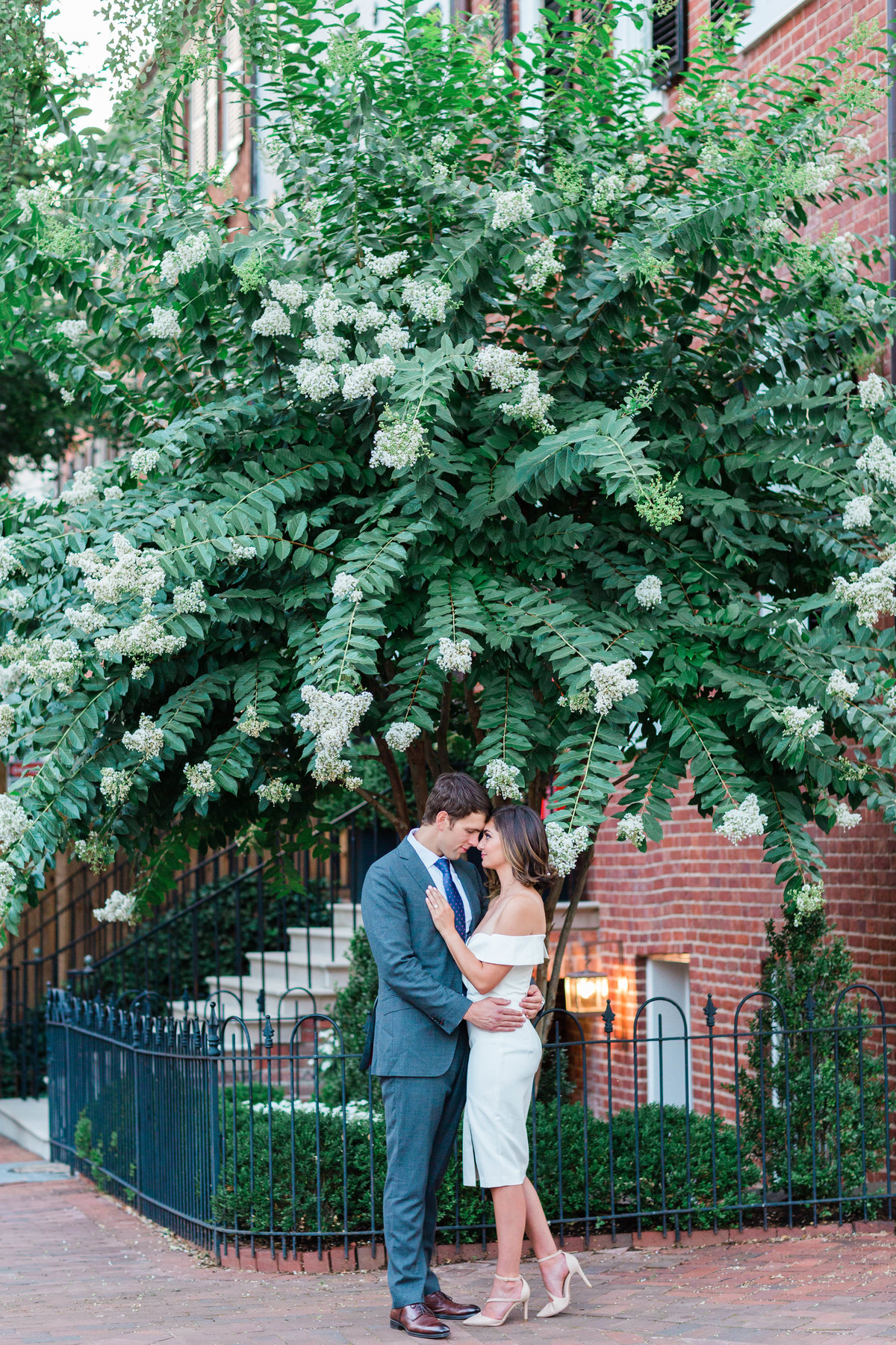 Georgetown Washington DC engagement photographer