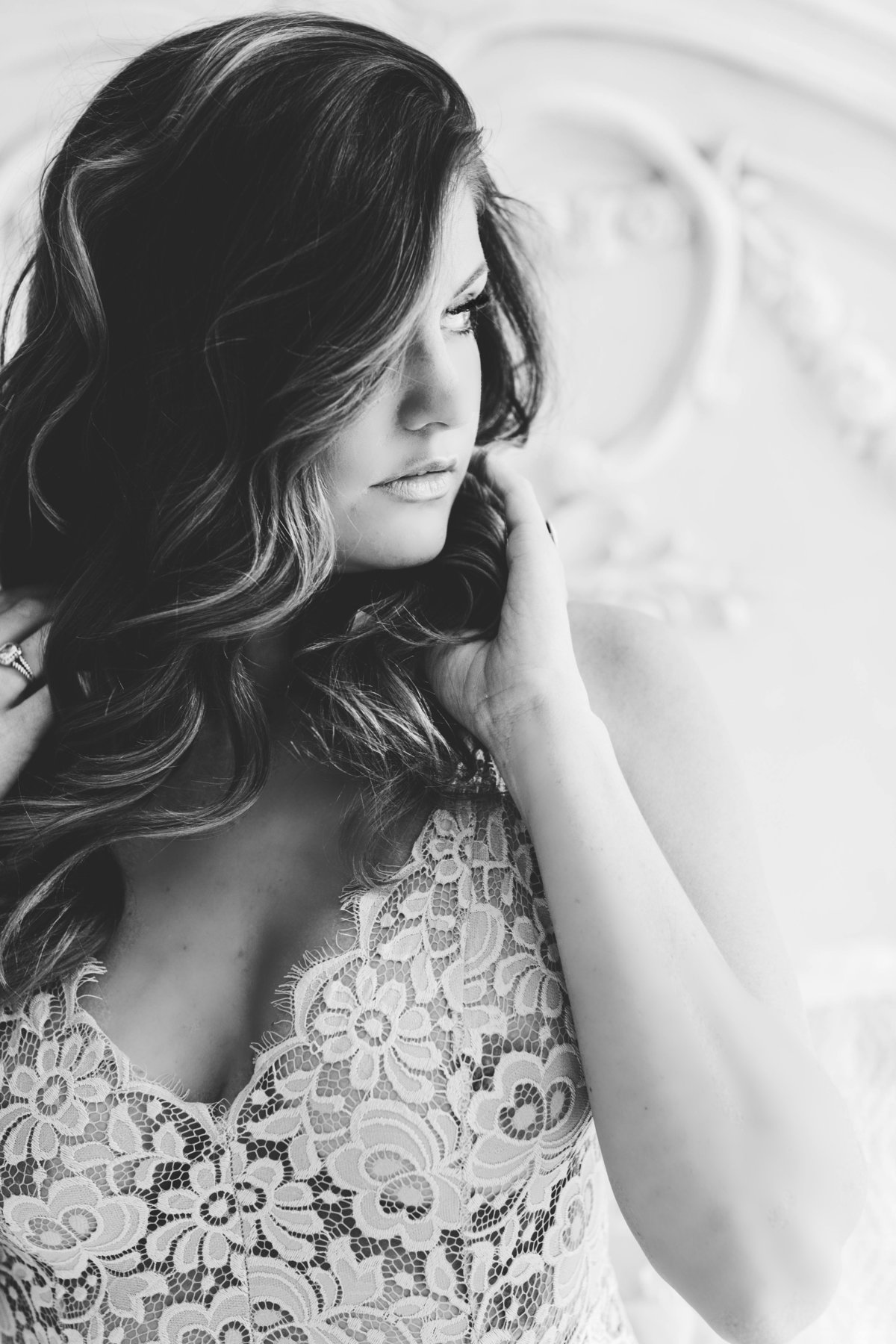 romantic bridal boudoir photography Hampton Roads