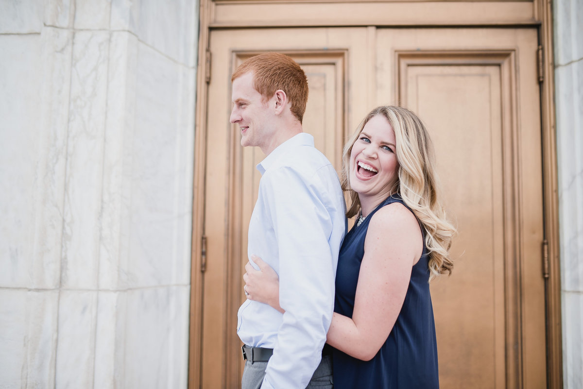 Detroit Institute of Arts Belle Isle Engagement
