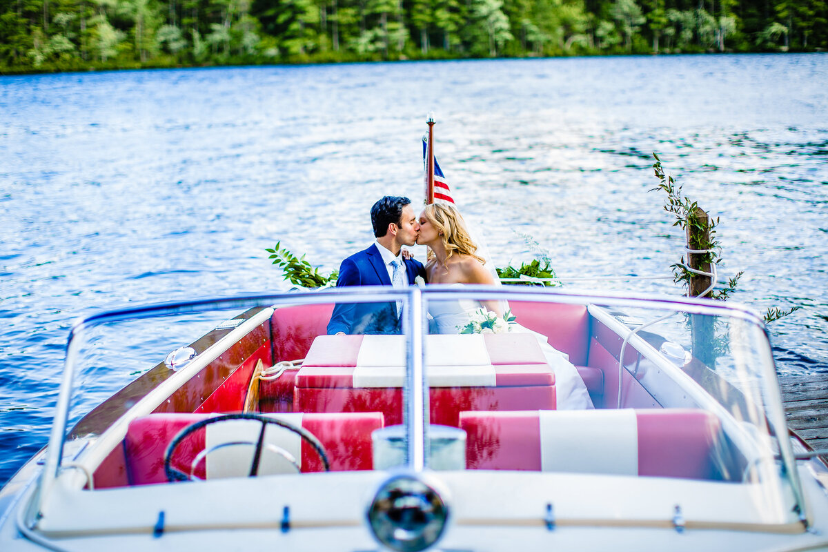Lake-Wedding-Antique-Wooden-Boat-Andy-Madea-Photography