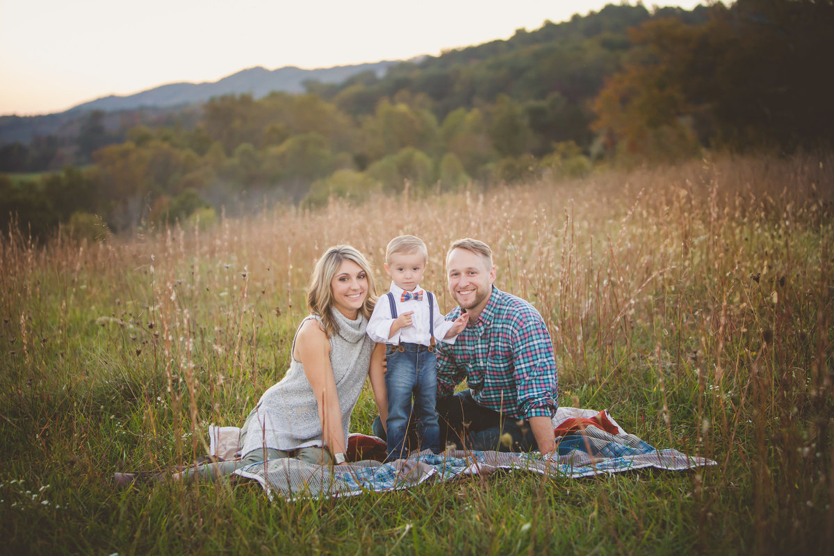 Southwest Virginia  fall Family Session