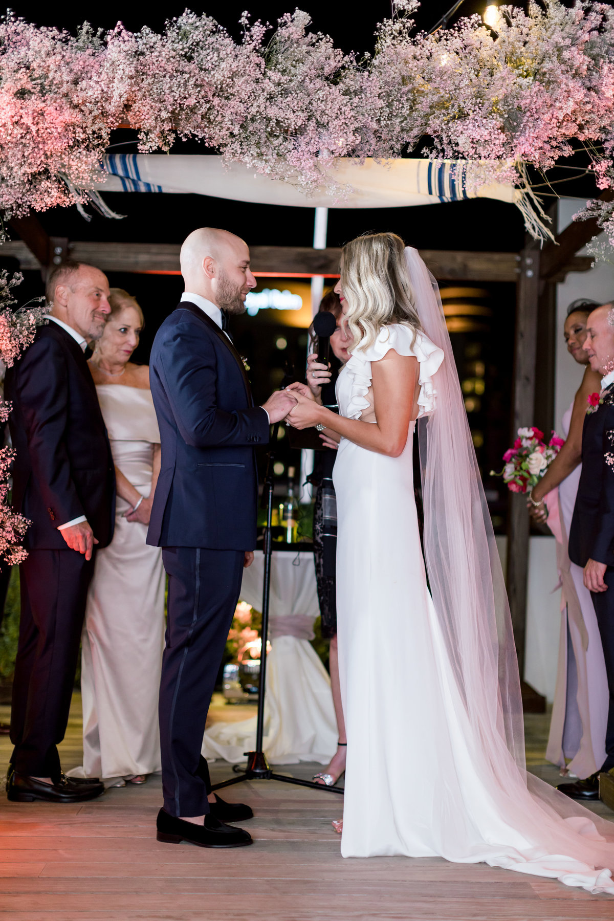 Outdoor Night Wedding - Florida