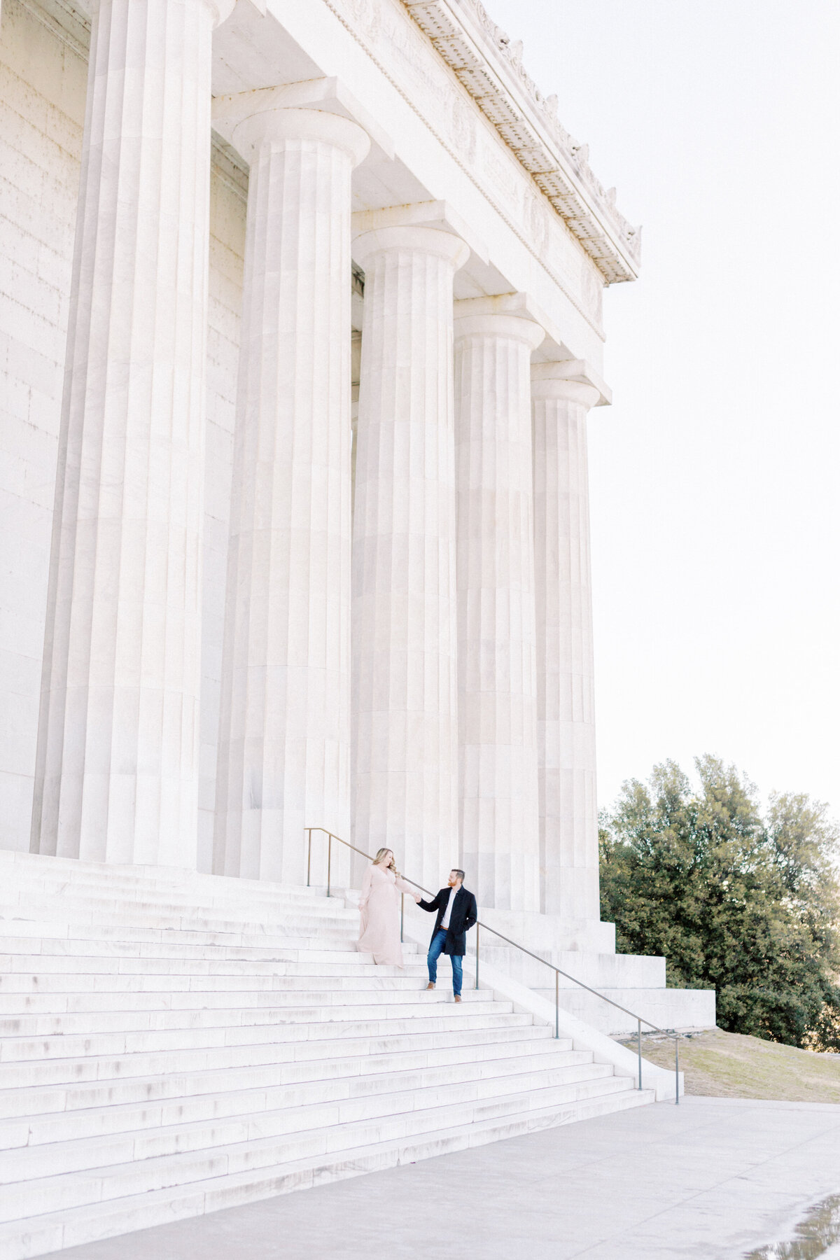 Lauren + Marshall _ Maternity _ Washington, DC Session _ LB Photography-31