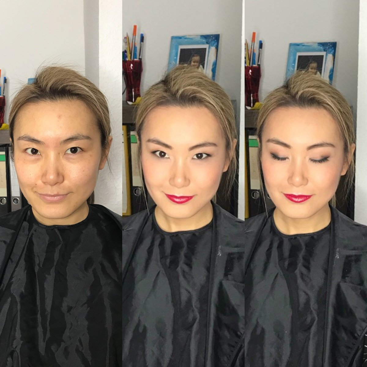 Before and After Natalie Setareh Makeup Artist Lifestyle Chinese
