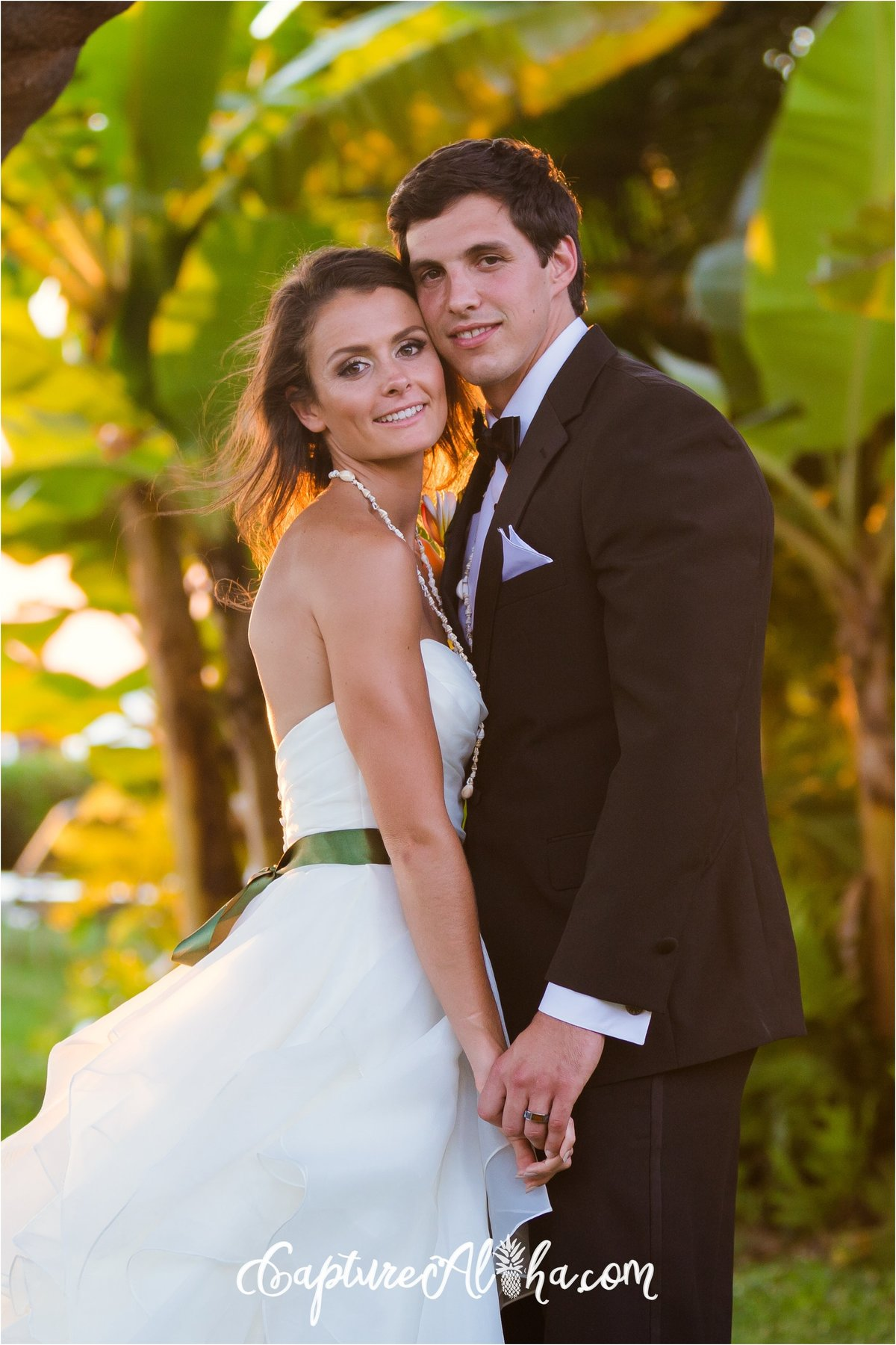 Maui Wedding Photographers - Bride And Groom newly married