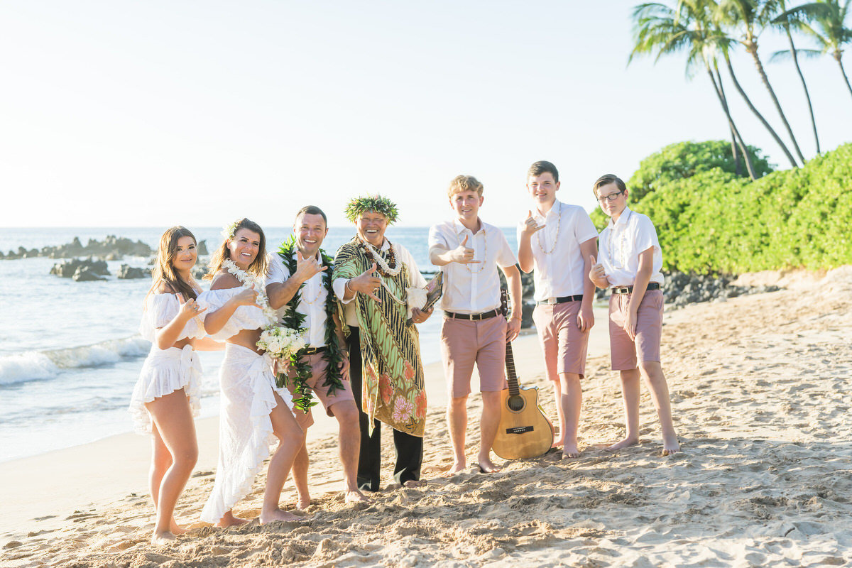 Vow Renewals Maui in Kihei