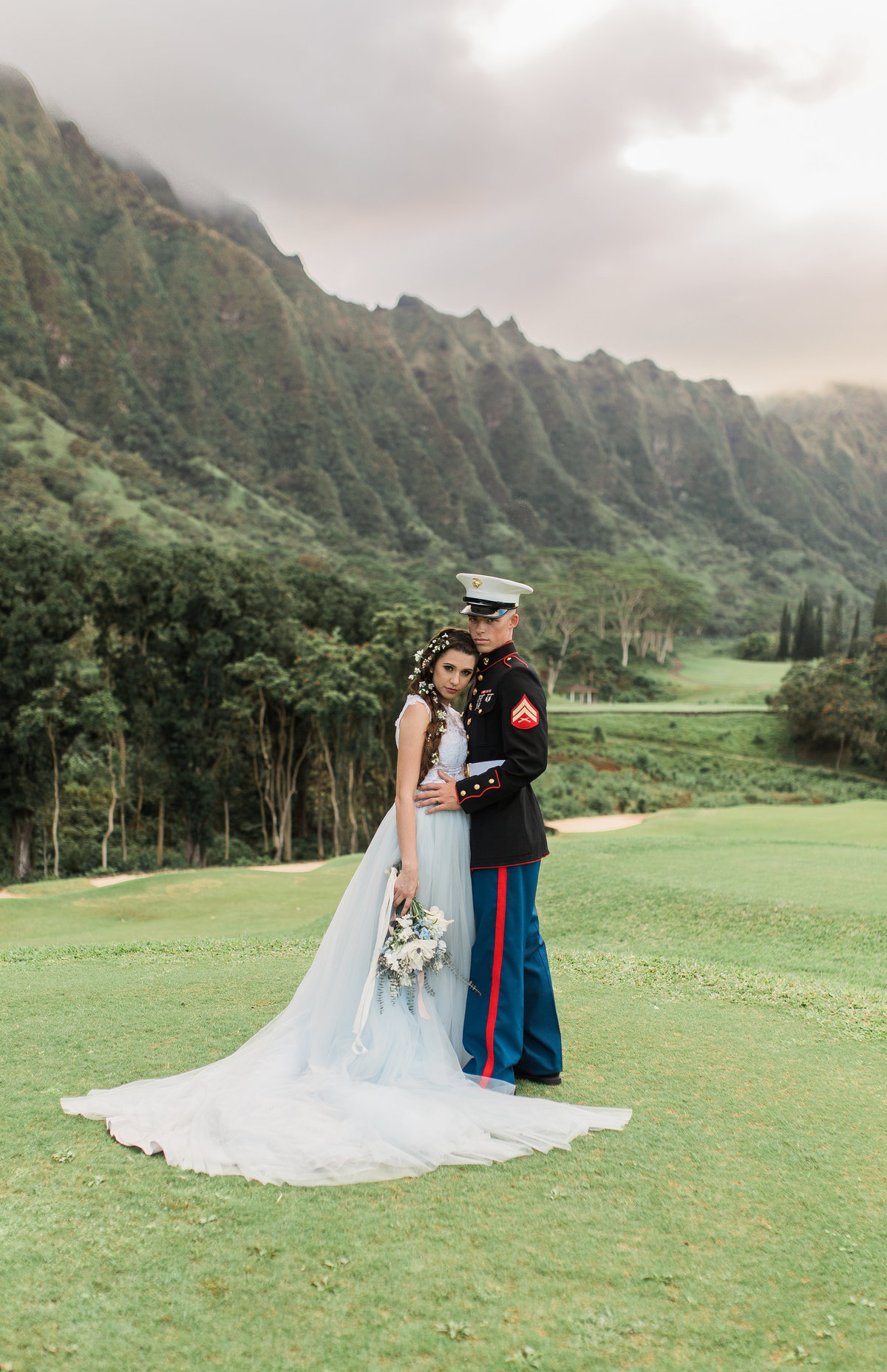 Powder Blue Styled Shoot _ Koolau Ballrooms _Vanessa Hicks Photography-3625