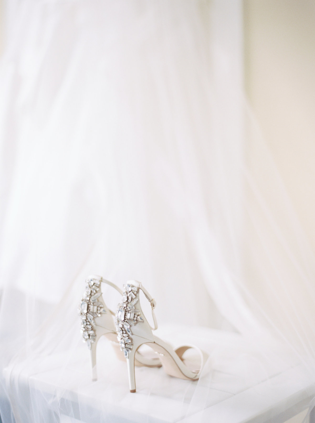 Bridal shoes for Chatham, MA wedding