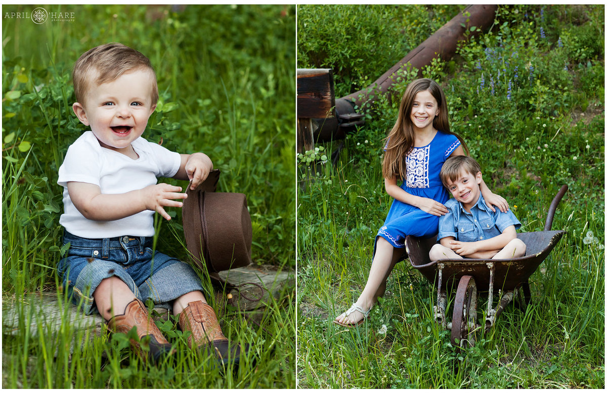 Cute Breckenridge Kids Photography  in Colorado