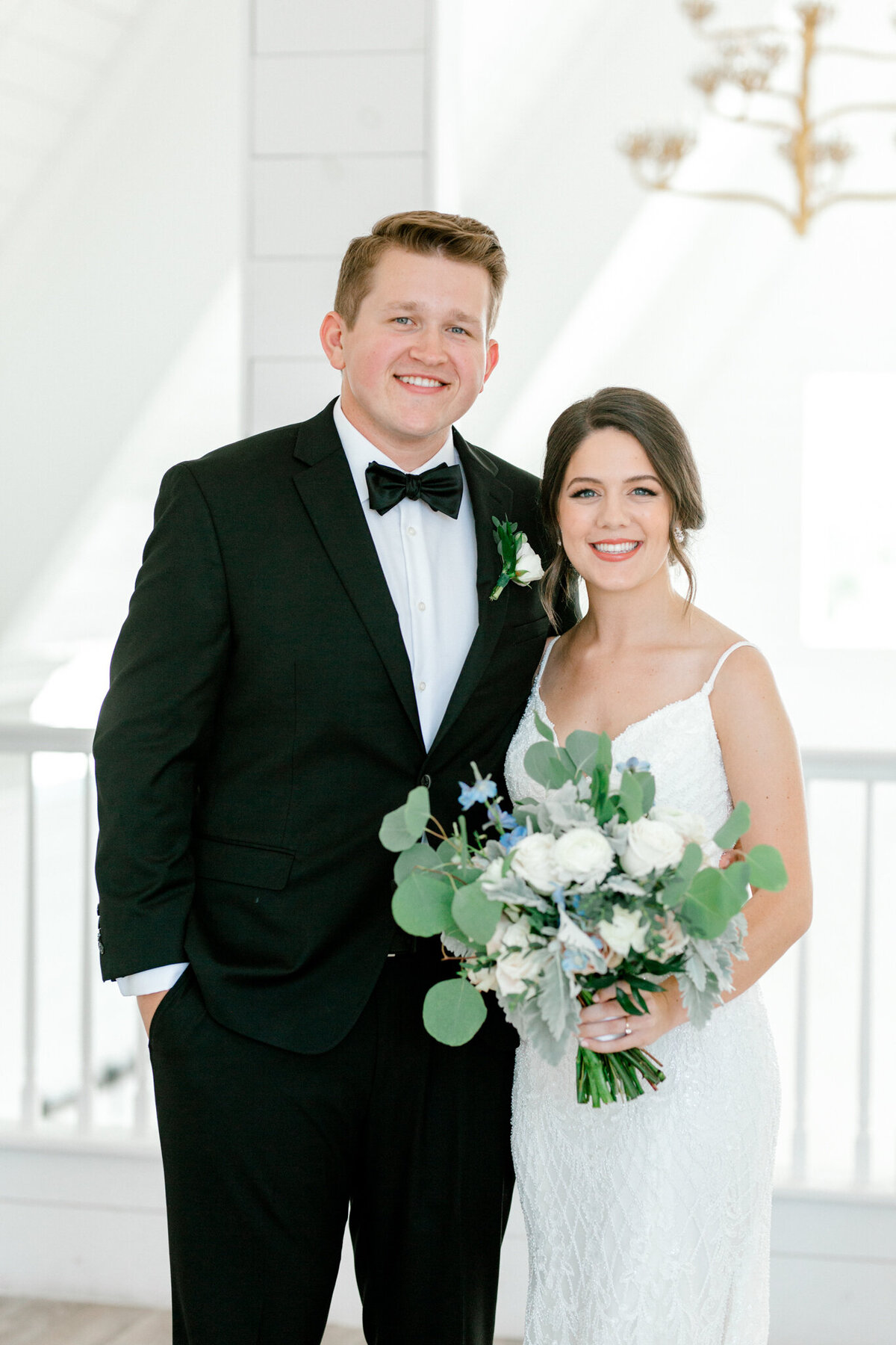 Anna & Billy's Wedding at The Nest at Ruth Farms | Dallas Wedding Photographer | Sami Kathryn Photography-94
