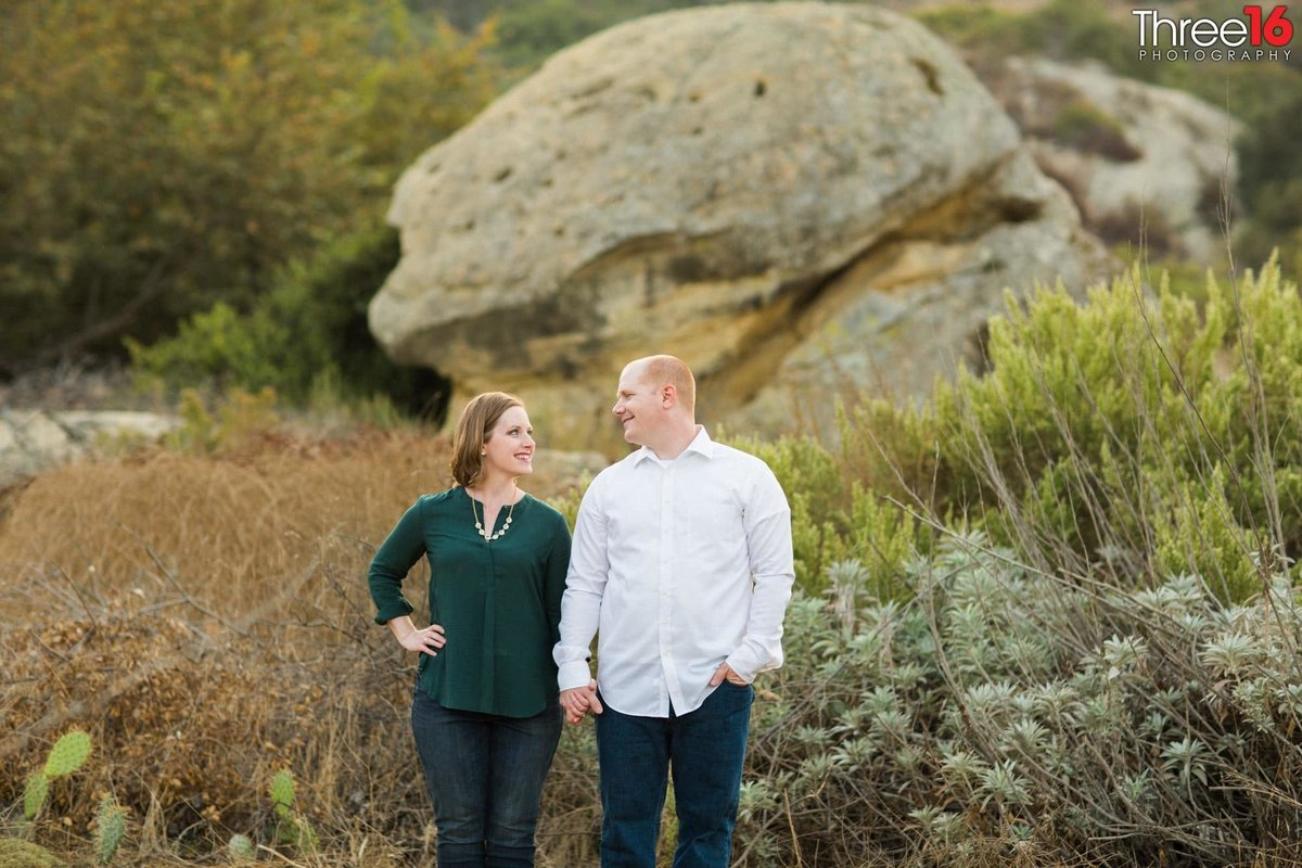 Laguna Coast Wilderness Park Engagement Beach Session_2