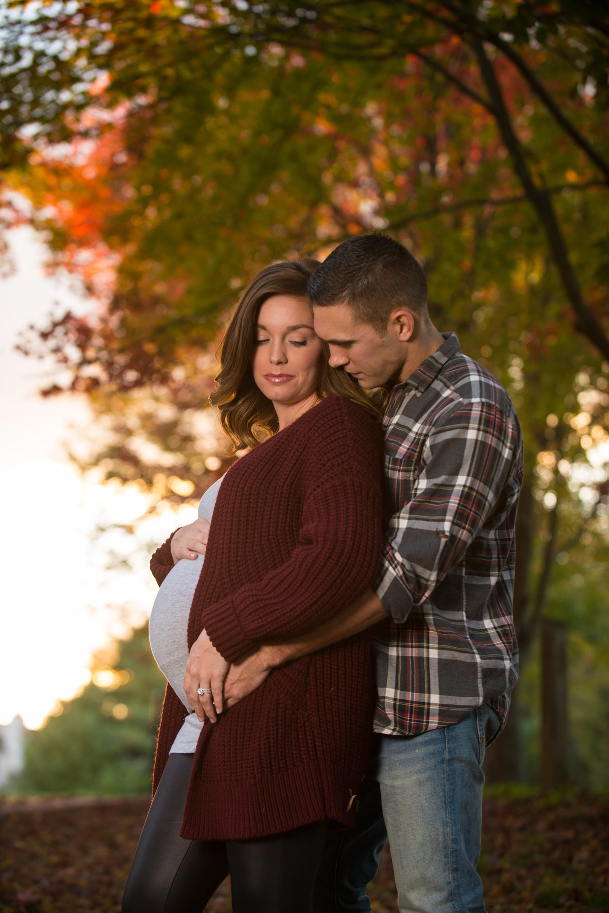 We specialize in pregnancy photography in the beautiful outdoor locations Baltimore has to offer