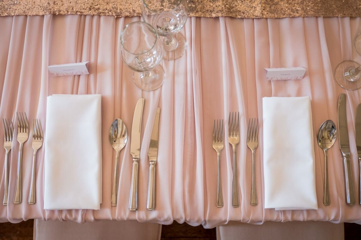 Pink and ivory wedding Prestwold (9)