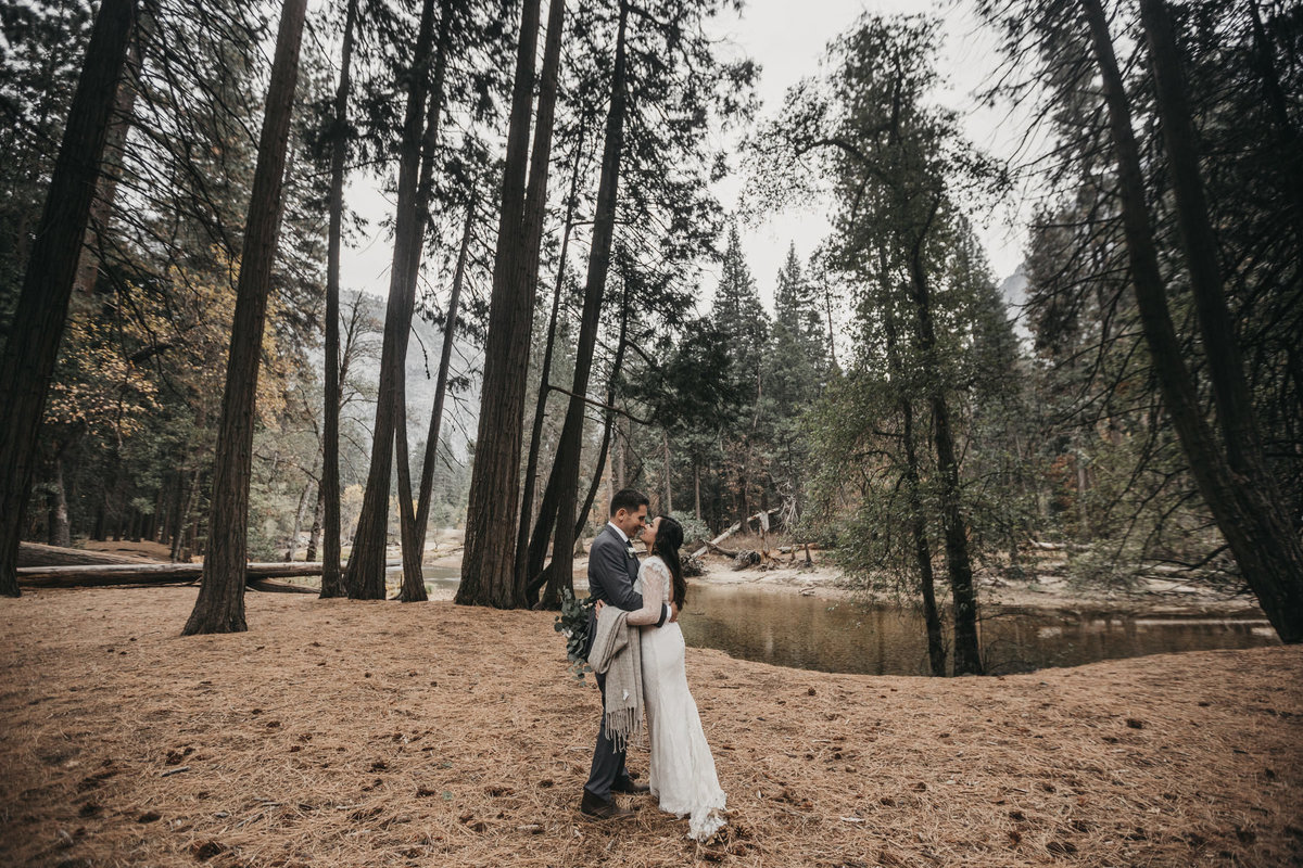 athena-and-camron-how-to-elope-in-yosemite-valley-lower-valley-woods19