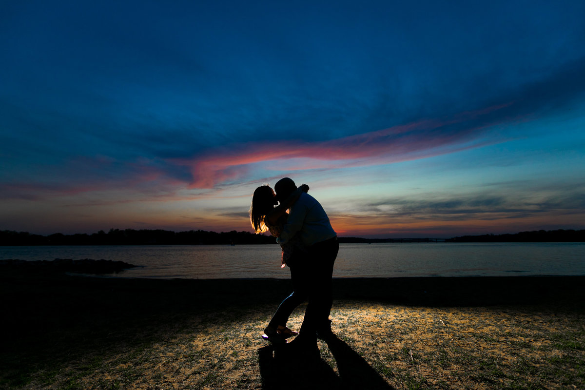 Annapolis Engagement Photos at Jonas Green Park