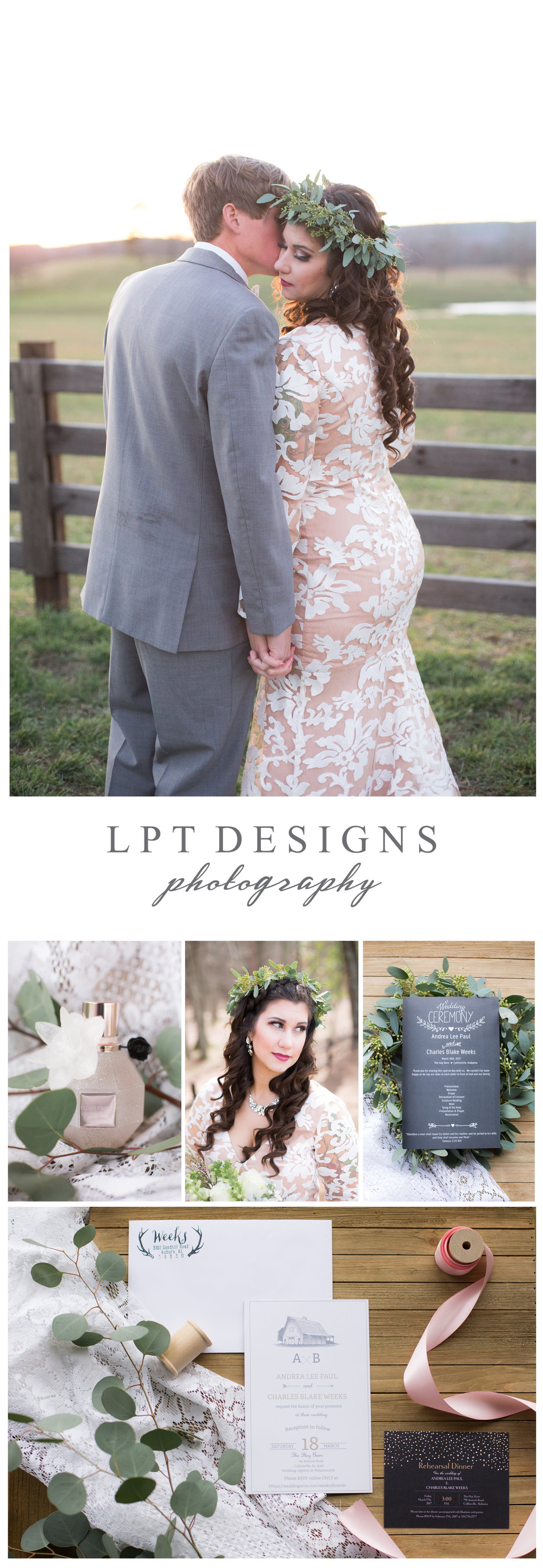 LPT Designs Photography Lydia Thrift Gadsden Alabama Fine Art Wedding Photographer AB 1