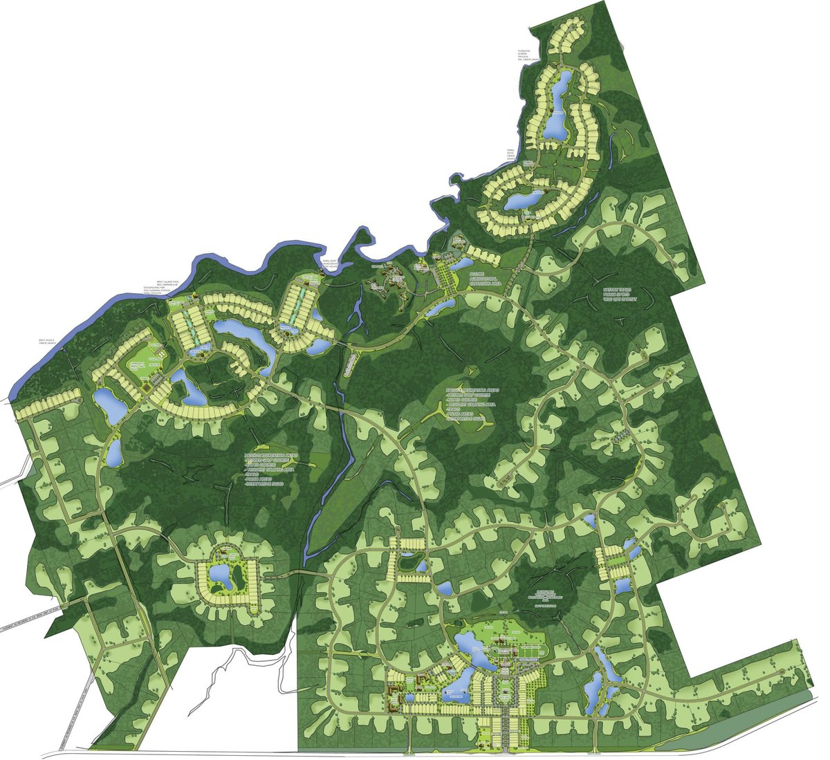 Longleaf Preserve Master Plan 2400 acres in the Florida Panhandle 2010