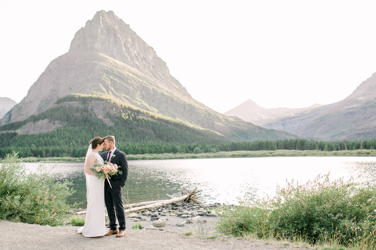Wedding in Glacier National Park by Marit Williams Photography