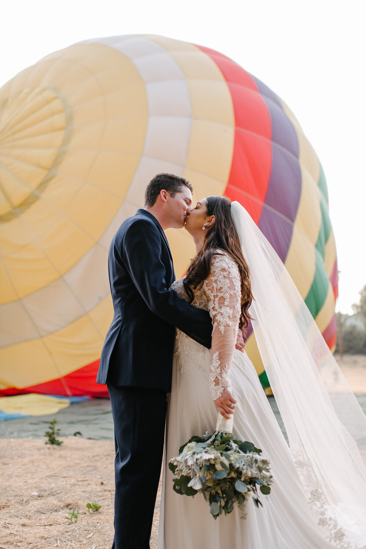 Hot Air Balloon Elopement Marie Monforte Photography-103