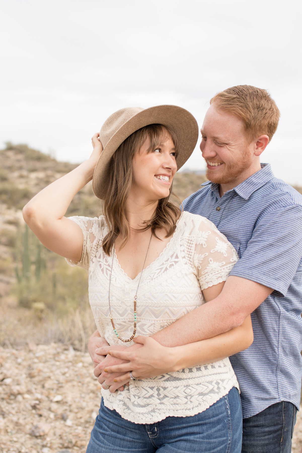 Nikki and Bret's anniversary session in Arizona