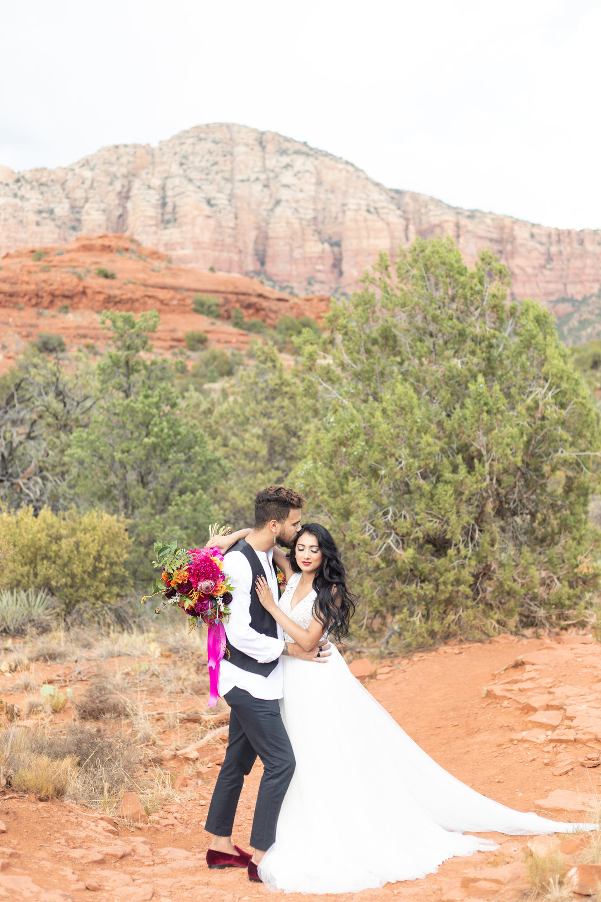 Tlaquapaque and Red Rock Bride & Groom Portraits-155