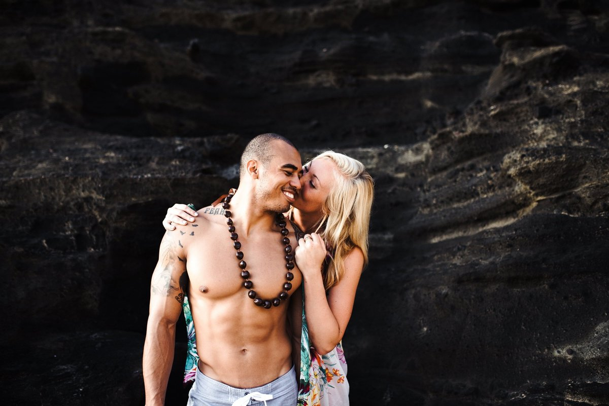 Eternity Beach Honolulu Hawaii Destination Engagement Session - 63