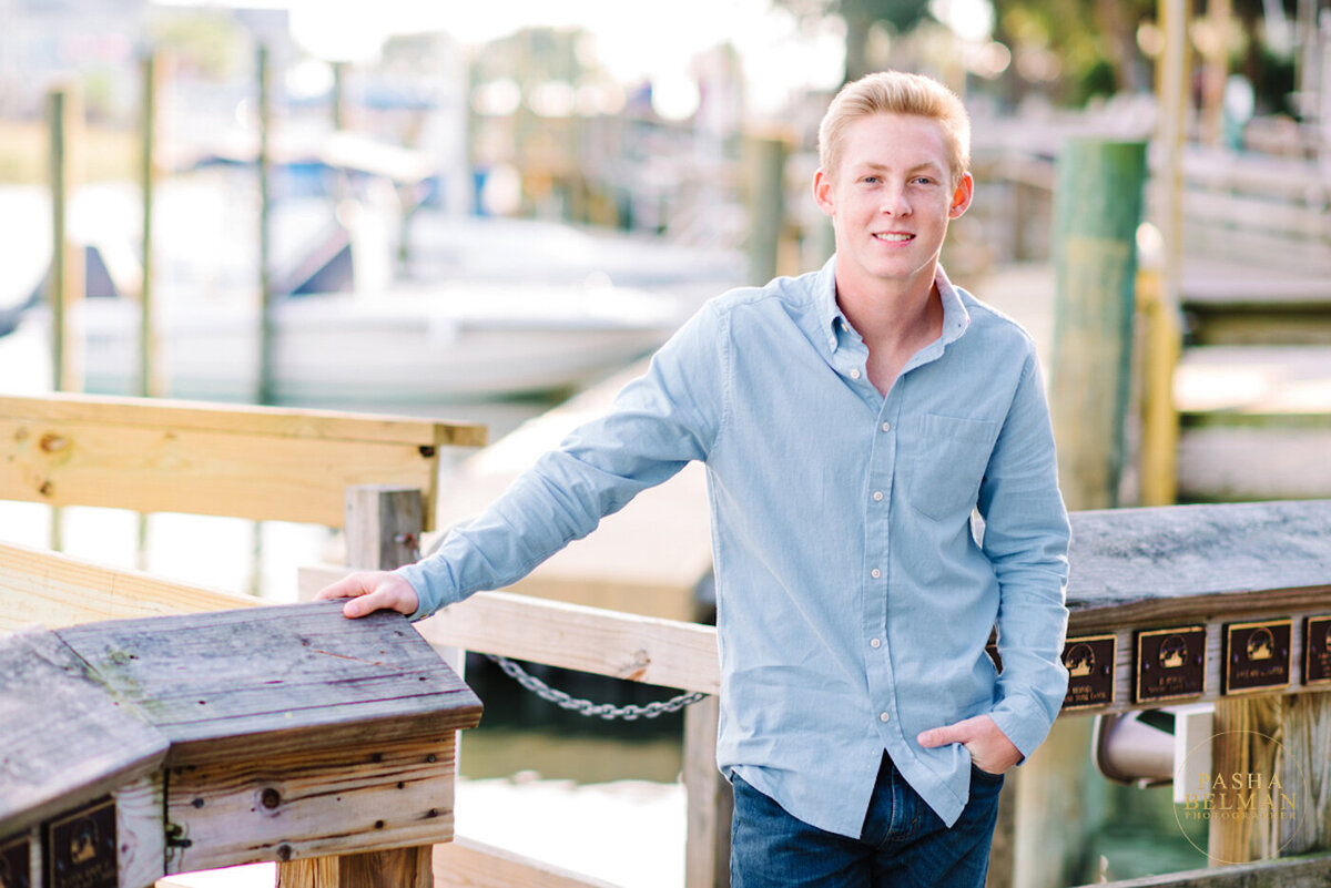 Myrtle Beach and Pawleys Island Senior Portraits for Guys-8