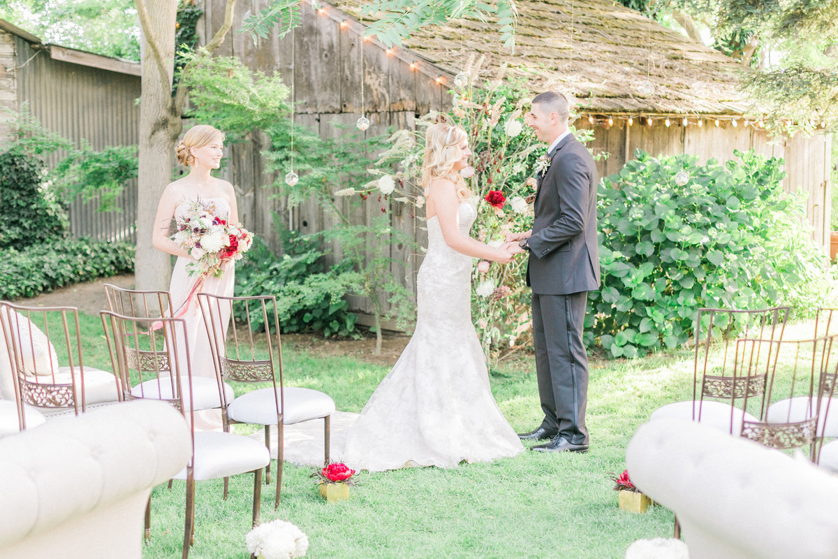 France Provence Inspired Rustic Wedding