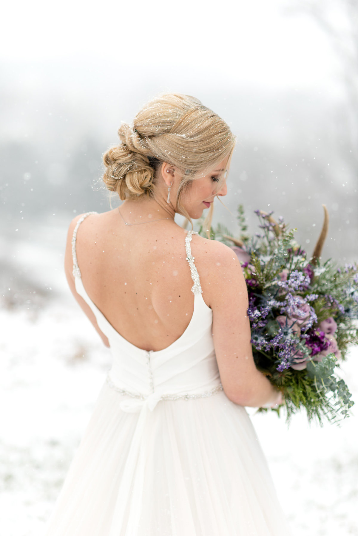 Tiffanys Bridal Purple Winter Styled Shoot-35