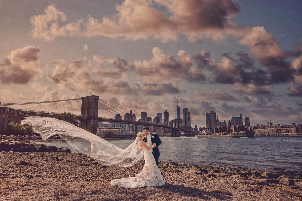 NJ Wedding Photographer Michael Romeo Creations Fav - 20160917 - MRC Signature - Dumbo Ocean