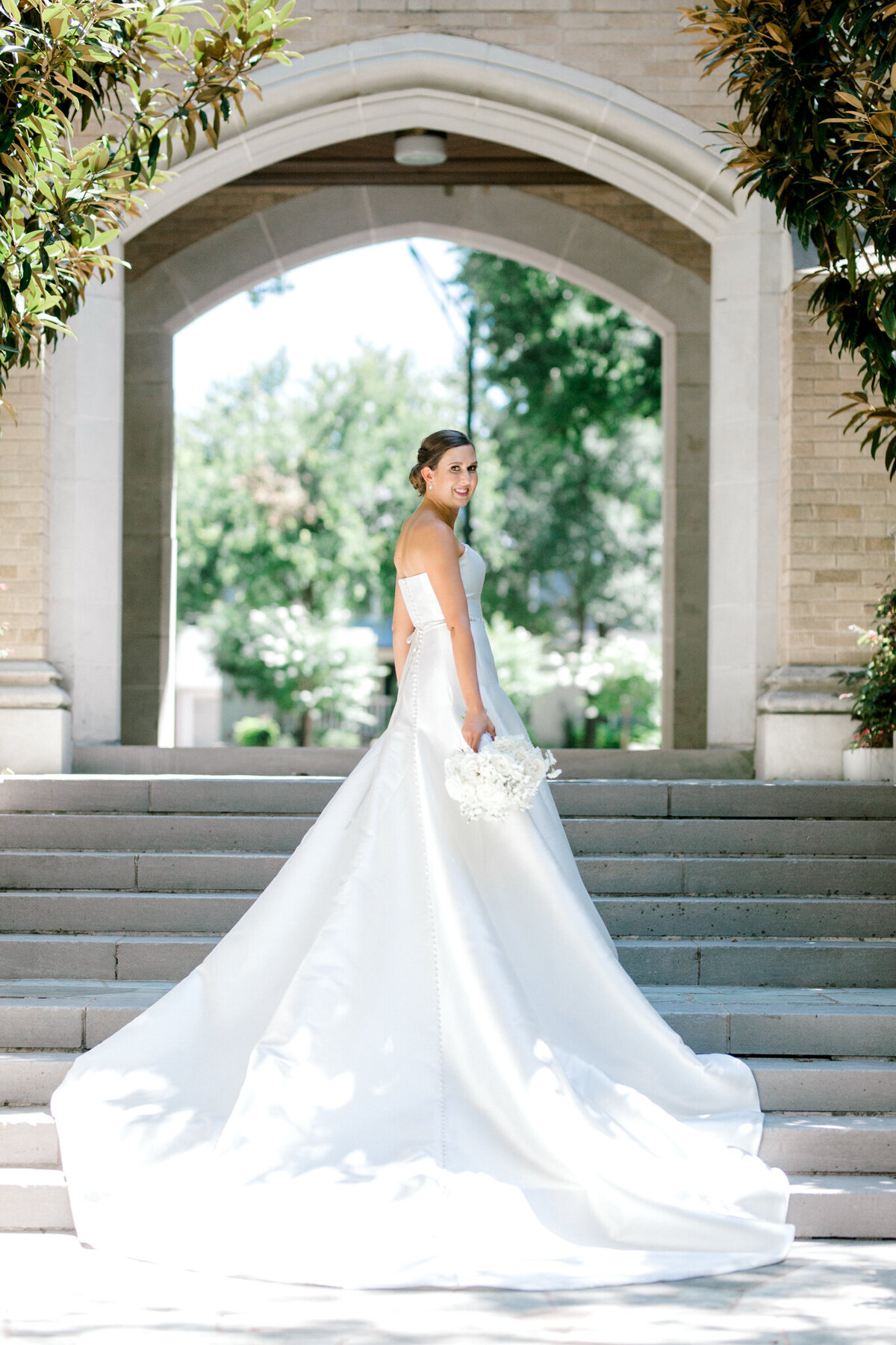 Wedding at the Crescent Court Hotel and Highland Park United Methodist Church in Dallas | Sami Kathryn Photography | DFW Wedding Photographer-101