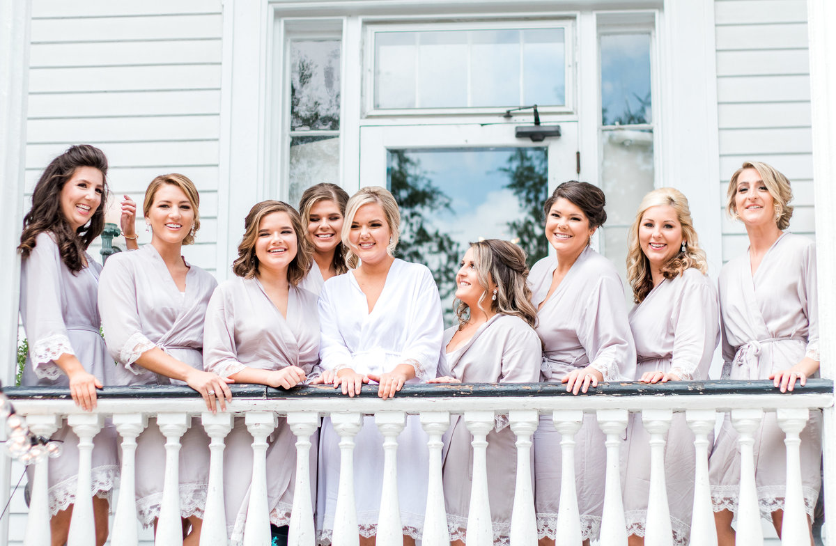 The Wickliffe House Charleston Bridal Party Photo