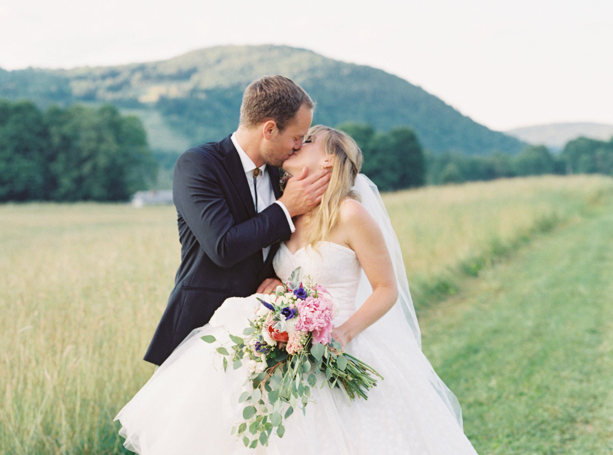 Romantic outdoor tented wedding with Shannon and Jake in the upstate mountains of Delhi, New York.