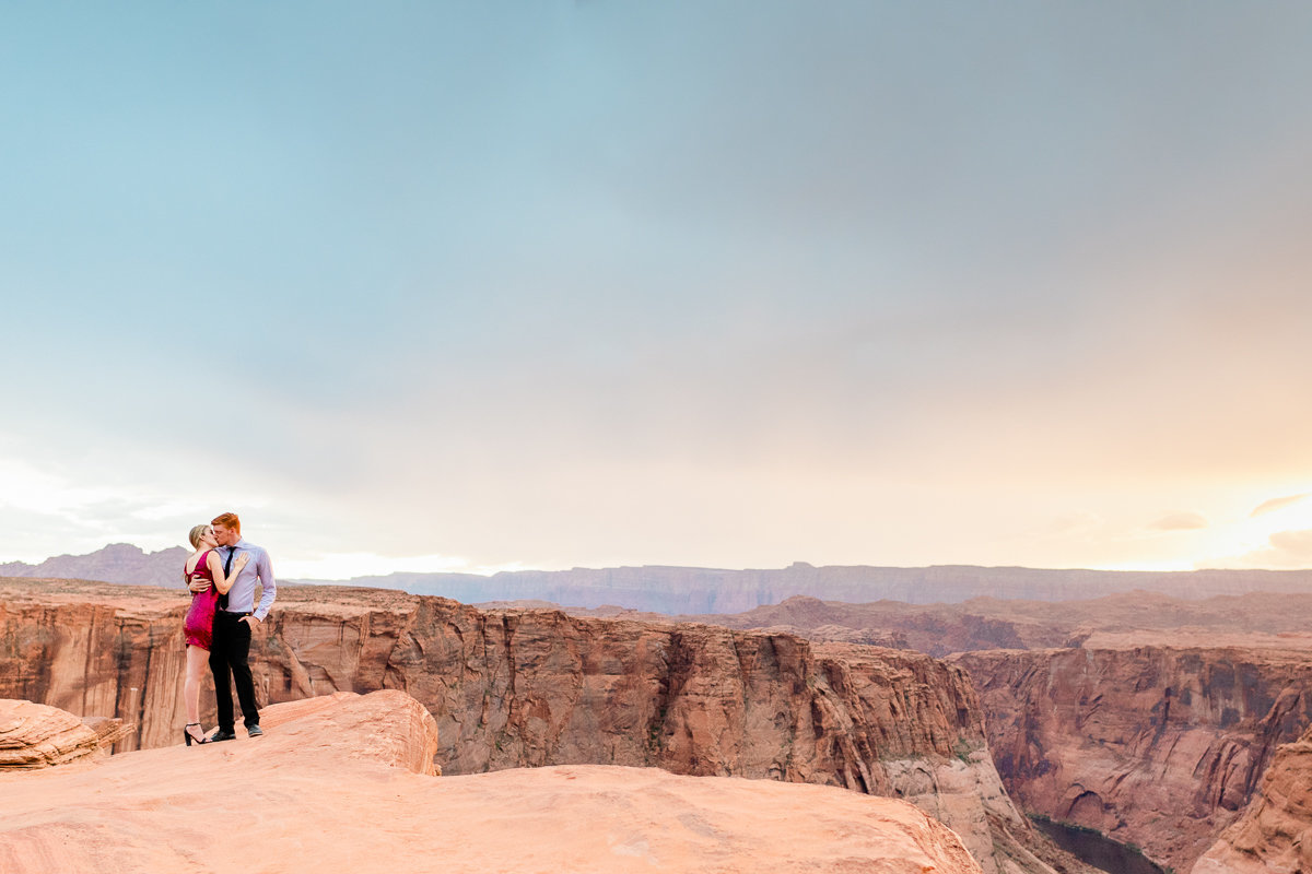 Horse Shoe Bend Engagement | Wedding Photographer | Arizona Engagement Photographer-1