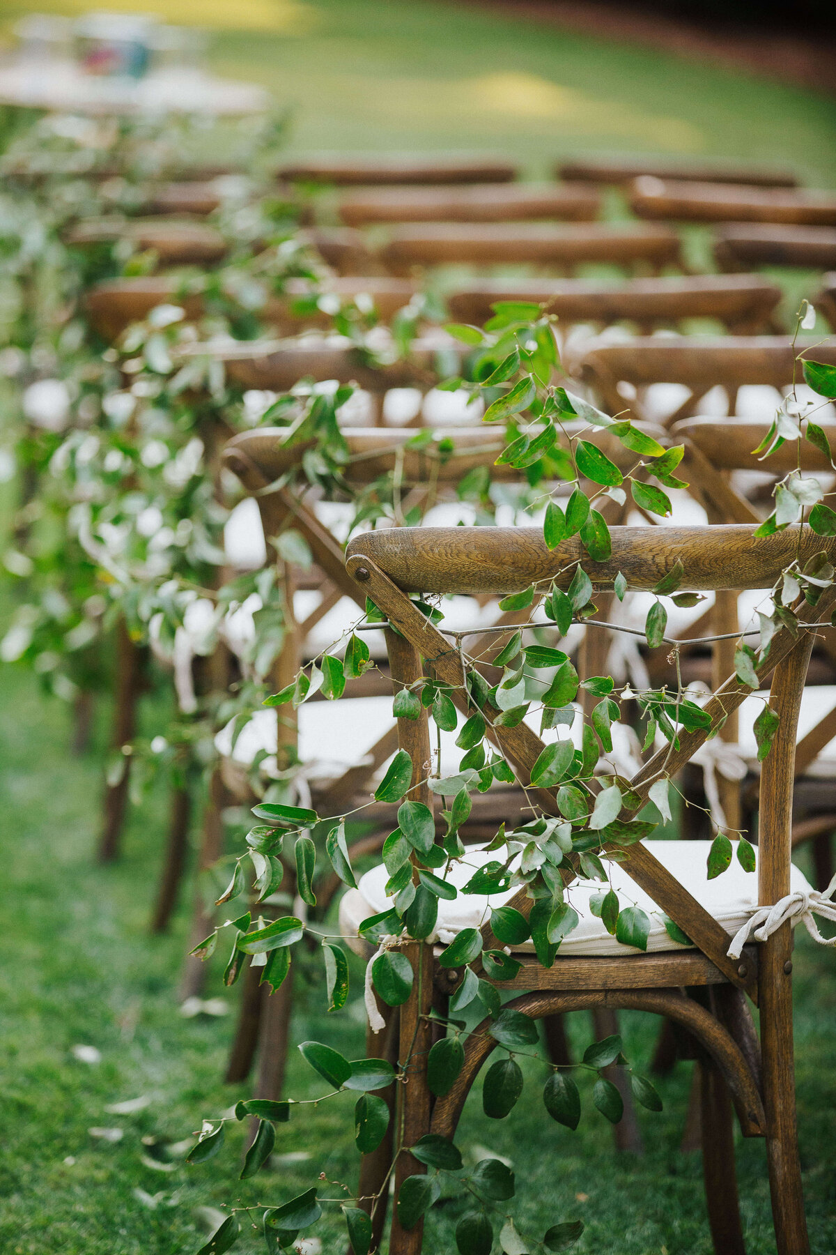 Wedding ceremony at The Ford Plantation