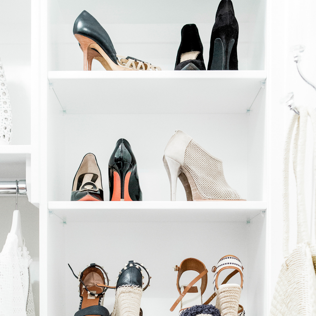 shoe and closet organizing