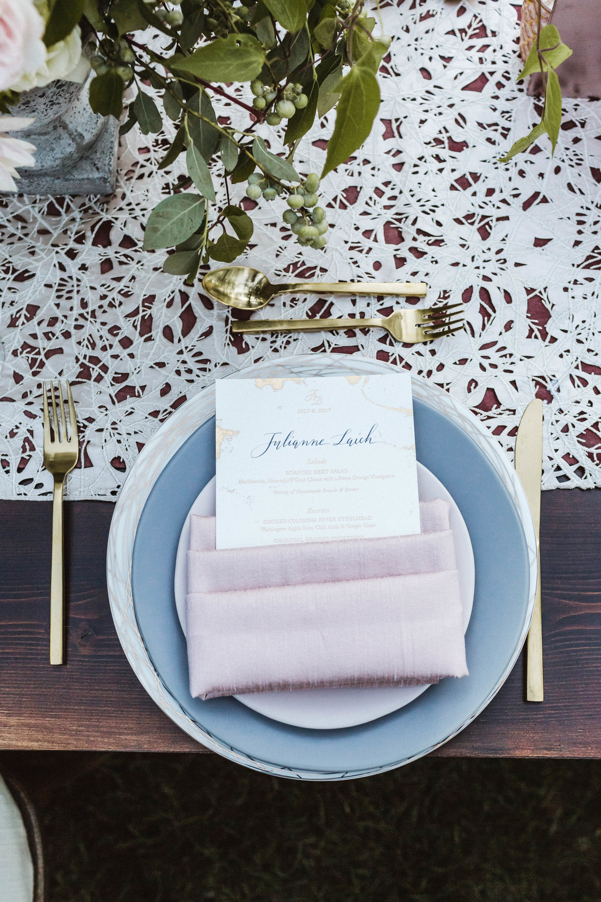 JB Wedding - DINNER PLACE SETTING - sarah-falugo-julianne-hough-brooks-laich-wedding-4289