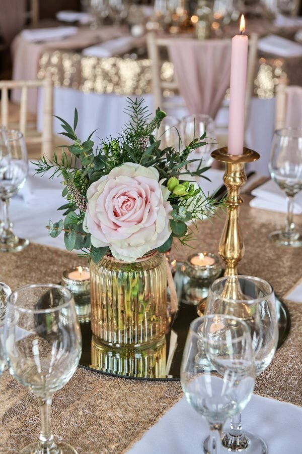 Dusky pink and gold wedding Prestwold Hall sm(5)