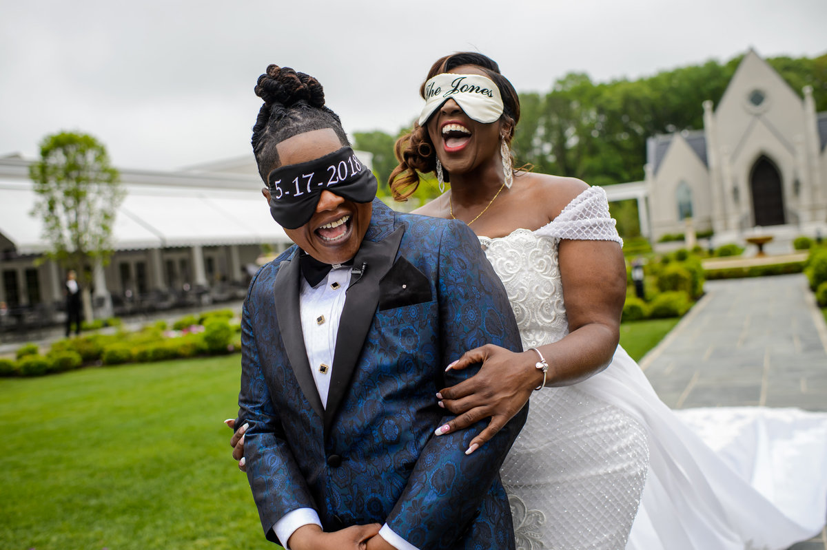 Viral NJ Wedding Bridesmaids in Tuxedos Same Sex 9