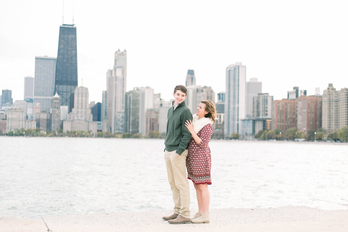 chicago engagement pictures - destination wedding photographer-3