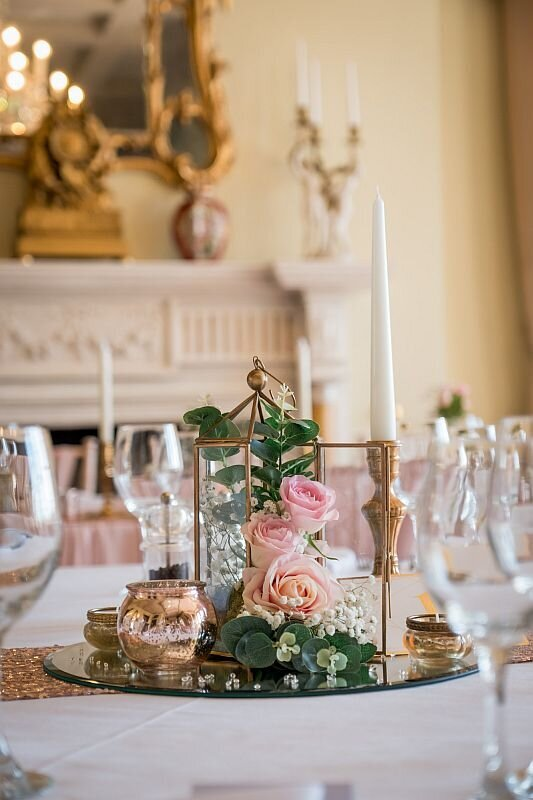 Pink and ivory wedding Prestwold (10)