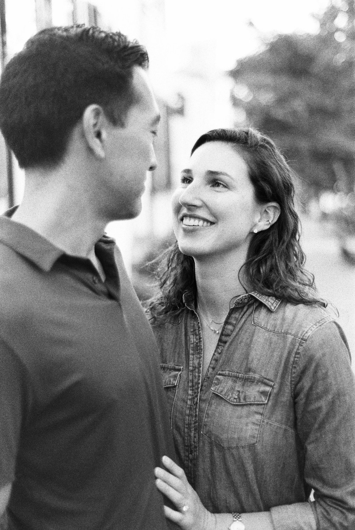 Georgetown DC Engagement, Robert Aveau Photography