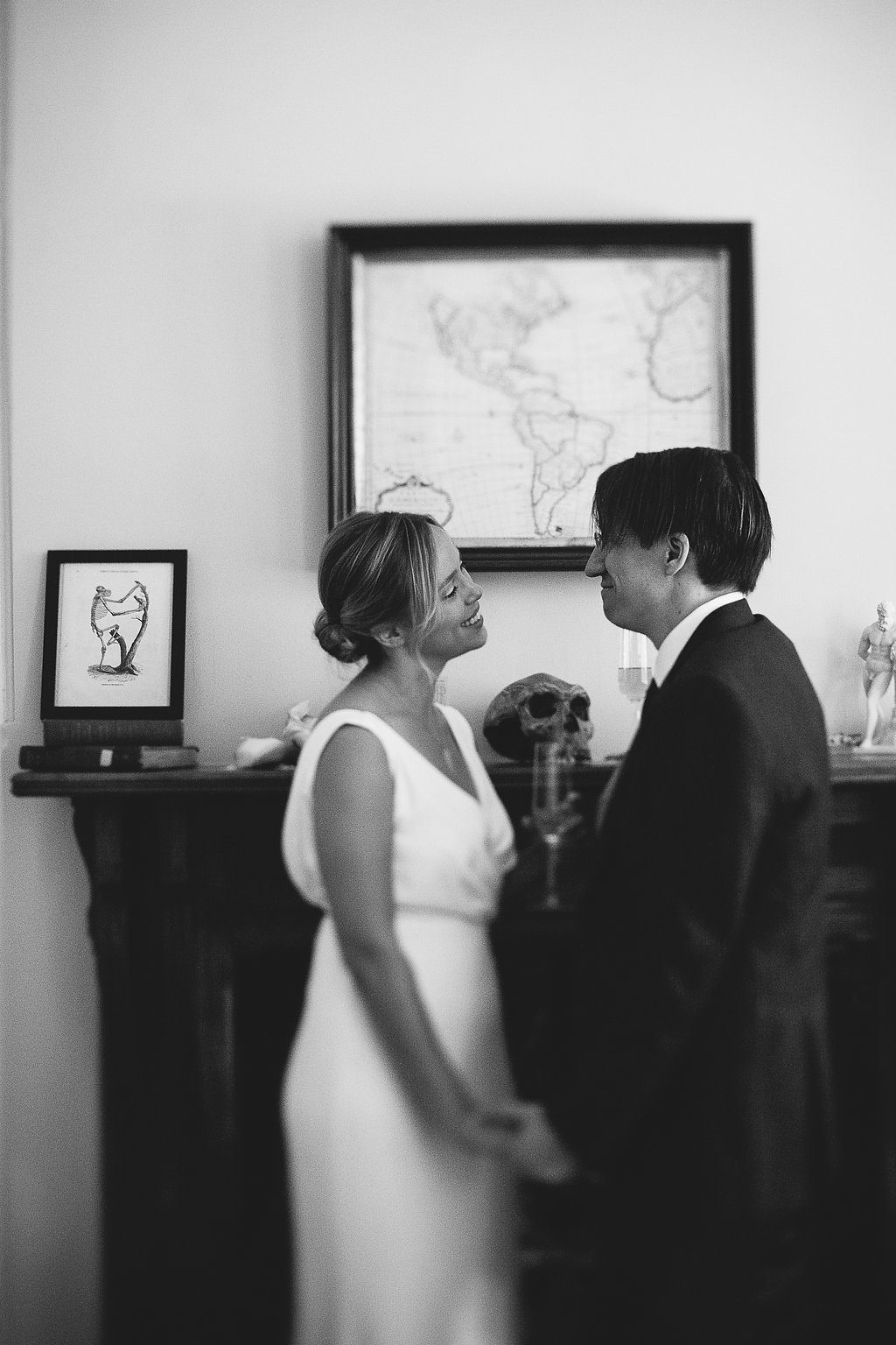 Wedding day in Washington, D.C.