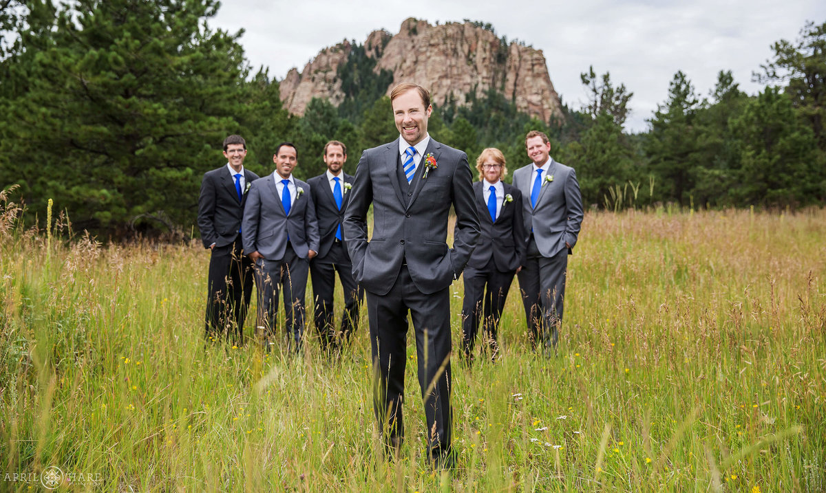 Colorado Mountain Wedding Photographer at Wedgewood Weddings Mountain View Ranch