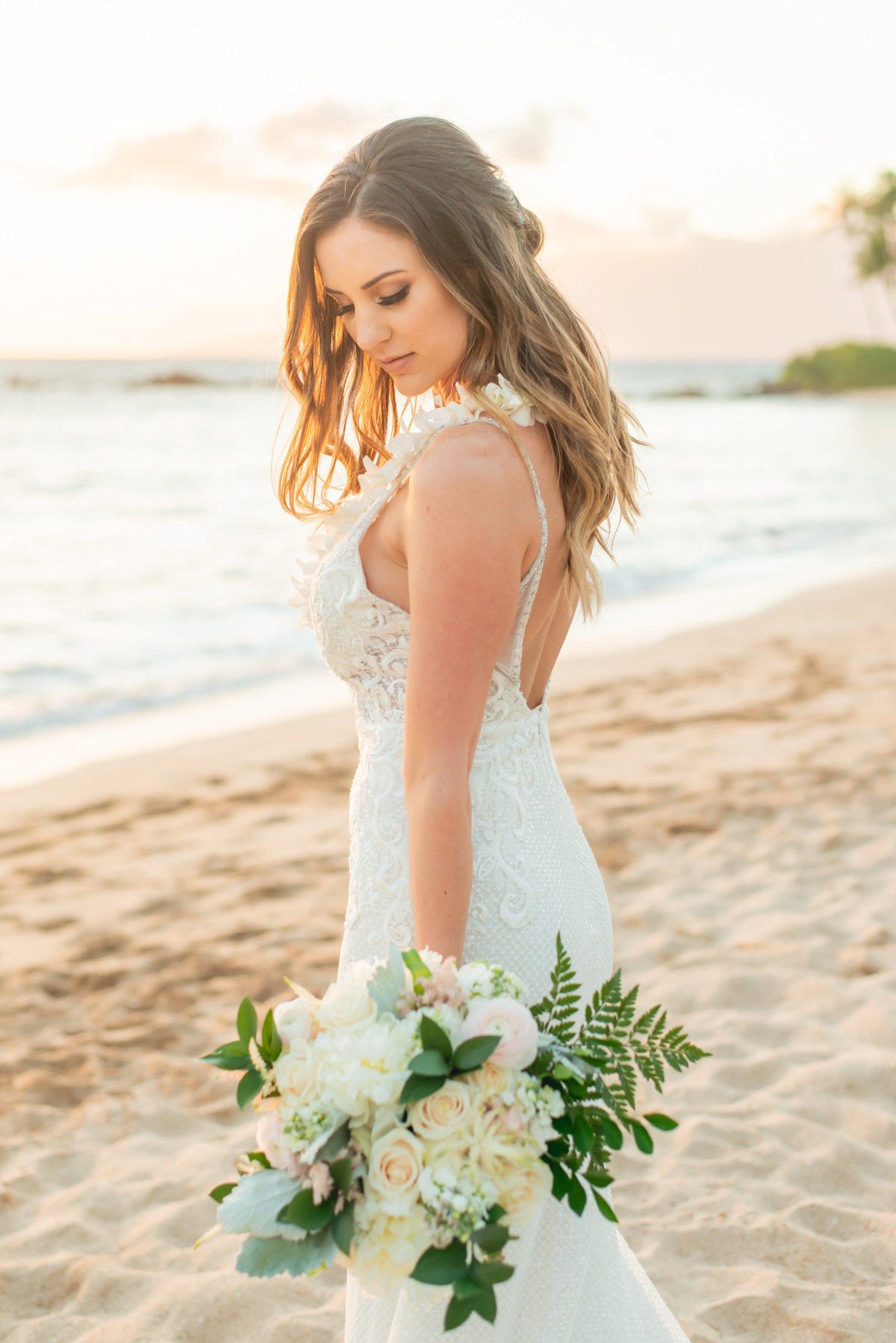 Maui wedding photography - bride