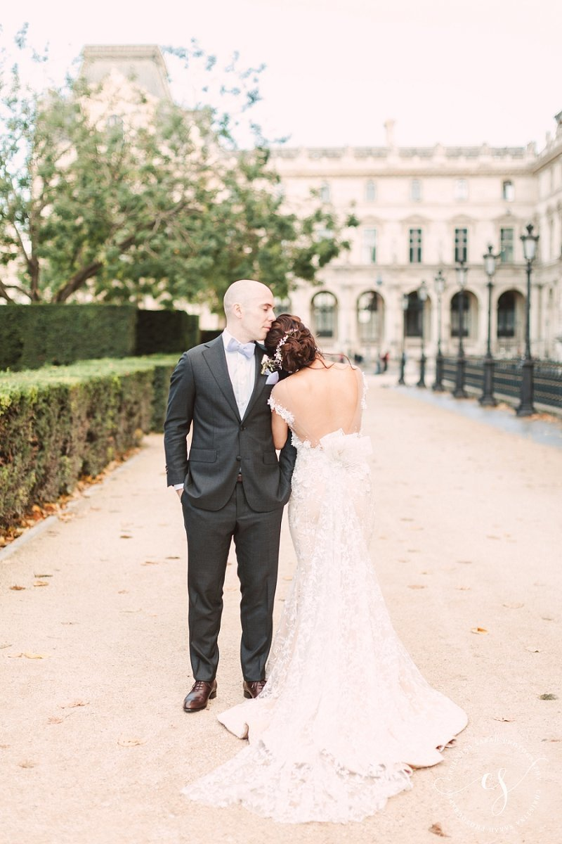 Romantic Wedding Paris