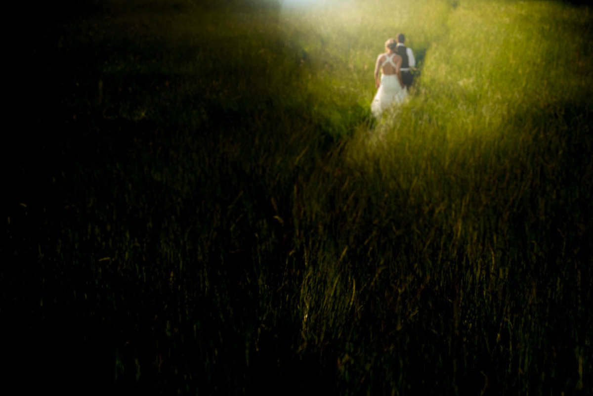 creative wedding images, silohotte bride, cotswold wedding