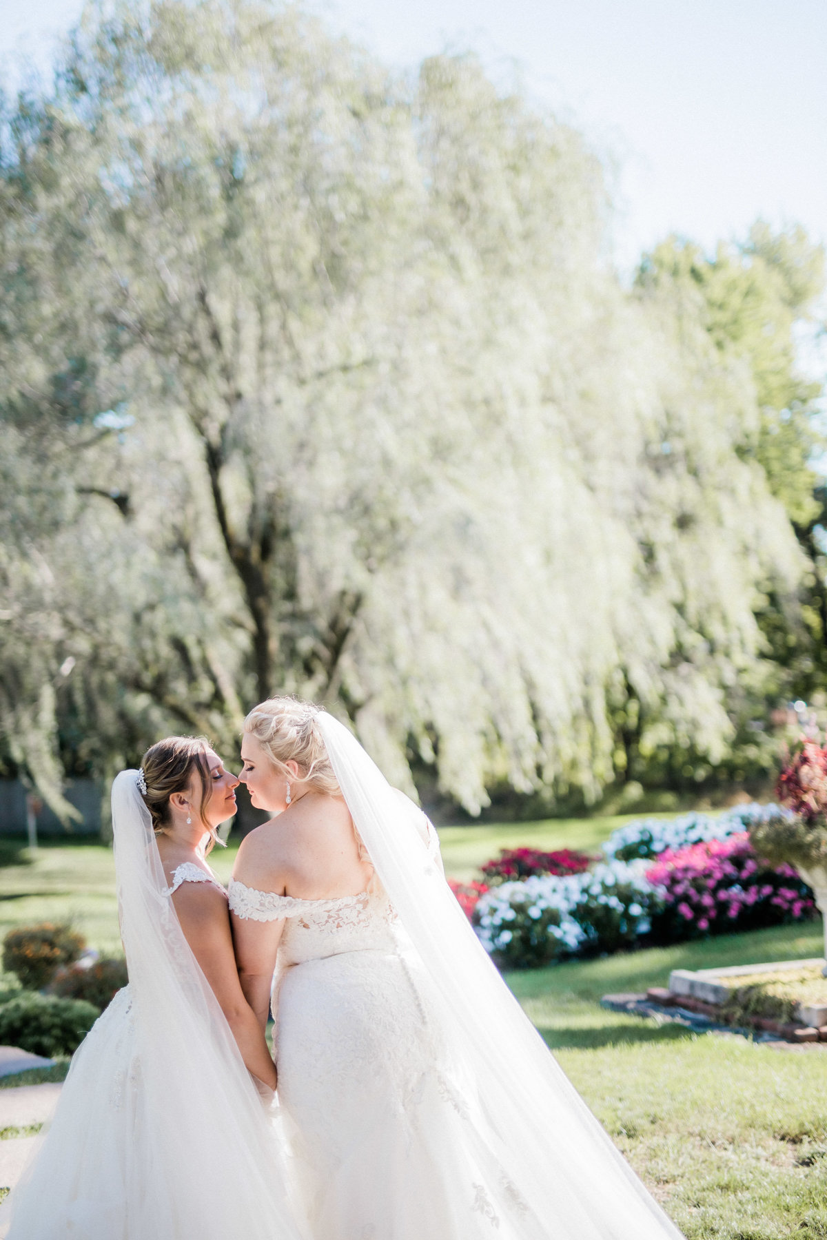 bridal portrait at historic acres of hershey